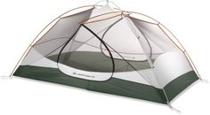 This is the REI quater dome tent. The main feature I like about this is it can be used without the fly sheet so it open air, but covered with netting to keep the bugs out. Its 20'x7.5', 5.2lbs and $320