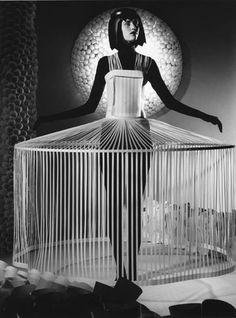 futuristic avant garde couture paper fashion by jum nakao - originally pinned by RokStarroad.com