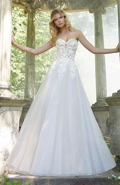 7cc2e0420d73 76 Best Mori Lee Bridal images in 2019   Wedding dress styles, Alon ...