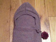 Stitch me Softly. Crochet Newsboy Hat, Baby Booties Knitting Pattern, Easy Knitting, Baby Knitting Patterns, Knitting Stitches, Baby Cocoon Pattern, Crochet Baby Cocoon, Knit Crochet, Knitted Baby Boots