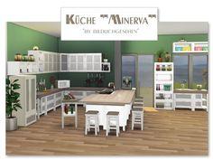 """Sims 4 CC's - The Best: Kitchen """"Minerva"""" by Bildlichgesehen"""