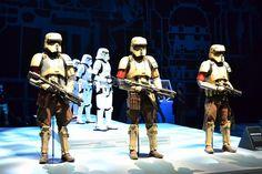 Star Wars Rogue One Shore Troopers, Star Wars Celebration London 2016