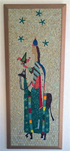 Evelyn Ackerman Era Tile Mosaic Wall Hanging Mid Century Modern  $2300 -- yep