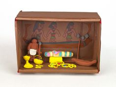 Explore the treasures of ancient Egyptian tombs! Recreate a wondrous tomb full of detail in this Model Magic® diorama.