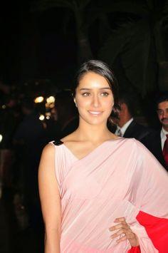 Shraddha Kapoor In Half Saree Attends at Salman Khan Sister Arpita Khan Marriage Receptions