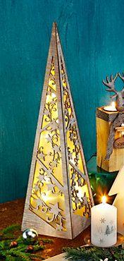 Lichterpyramide Sternenzauber bestellen | weltbild.de