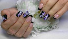 мои работы, наращивание ногтей, гелевое наращивание, китайская роспись