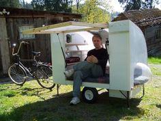bicycle camper