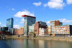 spacer po dzielnicy MedienHafen - Düsseldorf