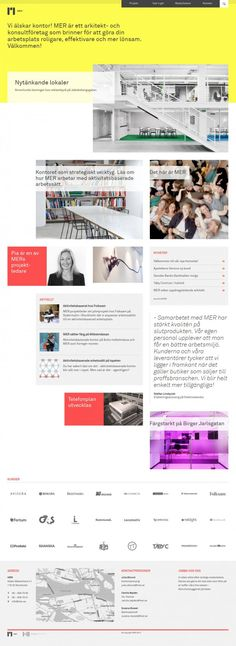 MER - architect and consulting firm - Webdesign inspiration www.niceoneilike.com
