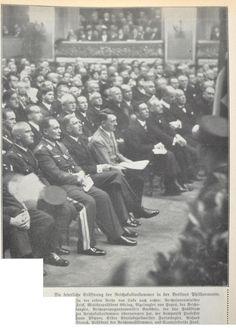 Berliner Illustrirte Zeitung vom 26.11.1933 – Feierliche Eröffnung der Reichskulturkammer in der Berliner Philharmonie