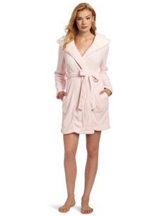 Dearfoams Women's Sherpa Lined Hooded Solid Robe, Pink Dogwood, X-Large Dearfoams,http://www.amazon.com/dp/B008TKJ16M/ref=cm_sw_r_pi_dp_SMz2rb11HQYQV61A