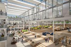 cepezed cepezed designs new european headquarters asics