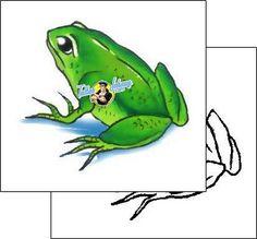 Frog Tattoo reptiles-and-amphibians-frog-tattoos-gary-davis-g1f-00166