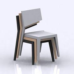 Chaise Designer Flag Chair