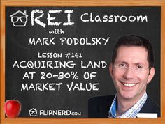 Learn the two types of sellers you want to look for when acquiring land from land expert, Mark Podolsky.