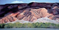 Georgia O'Keeffe. Outback of Marie's No. IV, 1931