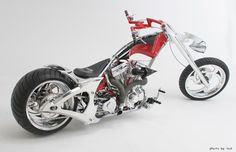 Orange County Choppers SolidWorks bike
