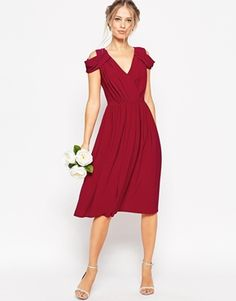 Discover Fashion Online - Not sure this goes with the colors for the wedding - too berry?