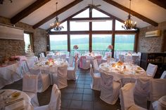 The Carriage House at Vineland Estates Winery can seat up to 56 of those select people who have been there since the first kiss. Vineland Estates, Tears Of Joy, Wedding Reception, Table Decorations, House, Furniture, Beautiful, Boston, Home Decor