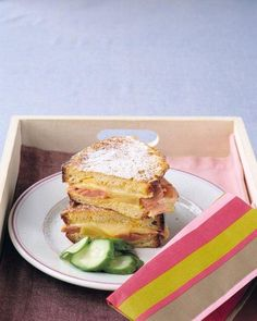 Leftovers don't have to be drab. Use extra ham in this classic sandwich. Monte Cristo Sandwich Recipe.