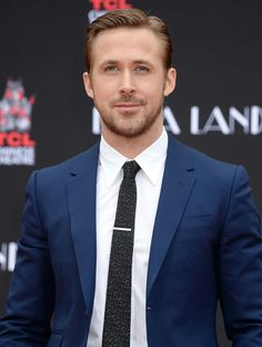 Ryan Gosling at imprint ceremony