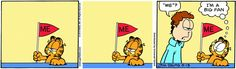 Fan. - #Garfield #cat #comic #snap #screenshot #app bestof * < ♡ ~  #Saturday things ALone a little ;p_