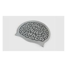 """Cuffia da nuoto modello """"Cervello"""". Materiale: silicone. Taglia: unica. Colore: grigio. Fabbricata in Francia (UE) Spedizione: 4,90€ per tutti i prodotti che vuoi!"""