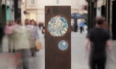 The historic city of Bath needed a wayfinding system in keeping with its World Heritage Site status. The system was designed by PearsonLloyd, FW Design, and City ID.