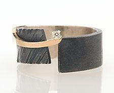 Silver & Stone Ring by Dagmara Costello