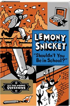 This is Daniel Handler, aka Lemony Snicket, trapped in a windowless room but nonetheless willing to answer any questions I receive from total strangers.