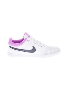 NIKE Women's Tenis Capri III Sneakers 579619-108 White | Central saved by #ShoppingIS