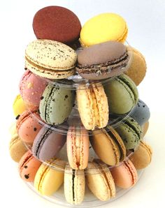 Macaron Tower Paris Gourmet Macaron Tower, French Cafe, Gelato, Macarons, Paris, Chocolate, Gourmet, French Coffee, Ice Cream