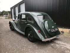 1938 Riley Kestrel Six-Light Saloon -Reserved SOLD, 1938 Riley Six-Light Kestrel Saloon A thoroughly pleasing example of the beautifully pro Vintage Cars, Antique Cars, Old Fashioned Cars, Country Uk, Road Transport, Kestrel, Car Makes, Automotive Design, Cars For Sale