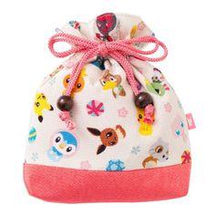 Pokemon Center Original Drawstring Bag Kokeshi