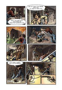 Call of Juarez comic book -Billy's story, p. 3
