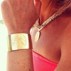 Manchette et collier série limitée @bijouxleone #bijouxleone