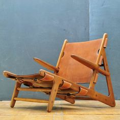 1950 Hunting Chair by Borge Mogensen for Erhard Rasmussen Danmark at 1stdibs