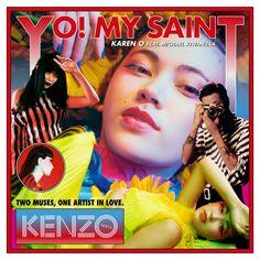 "Listen to ""YO! MY SAINT (feat. Michael Kiwanuka)"" by Karen O (Yeah Yeah Yeahs)   #LetsLoop #Music #NewMusic   LetsLoop.com/New-Music"
