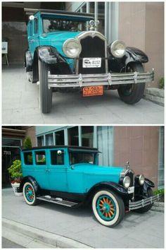 1927 Buick sedan built by McLaughlin