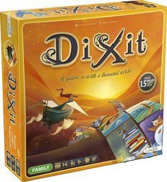 In Dixit, players must use their imagination to describe their card in a way…