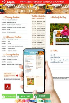 Please, note that this is only 1 Month November 2020 fillable sample of the full version of TODDLER SCHEDULE 2020/2021 FILLABLE Printable DAILY ROUTINES AT HOME - The 2021 Toddler Routine Planner. It includes 1 fillable Daily Toddler Schedule Template November 2020 (Toddler Routine at Home, Toddler
