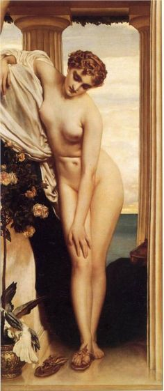 The Nymph of the River - Frederic Leighton - WikiPaintings.org