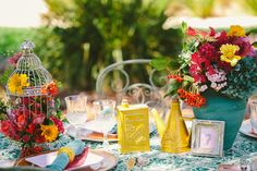 """""""The Sexy Señorita"""" - Colourful Spring Wedding Style // Styled by Chanele Rose Flowers, Photography by Clarzzique Photography & Video."""