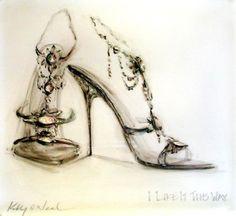 Shoe Paintings | Kelly O'Neal