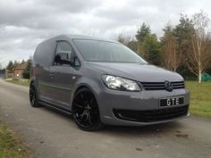- VW Caddy Van 130 TDI GTE Black Edition - Leather Seats