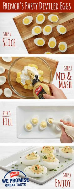 You won't have a party without deviled eggs after trying this delicious and easy to make appetizer!