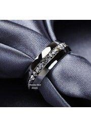Eternity Stainless Steel Ring