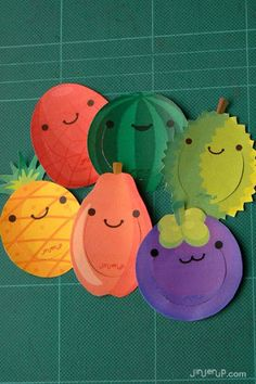 136 best fruit of the spirit images on pinterest crafts for Pre punched paper for crafts