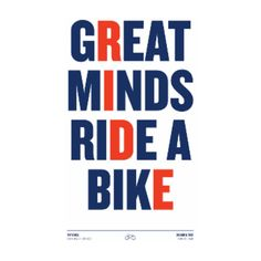 Great Minds A3 Framed Print ($51) ❤ liked on Polyvore featuring home, home decor, wall art, bicycle wall art, white home decor, bike wall art, white wall art and bicycle home decor